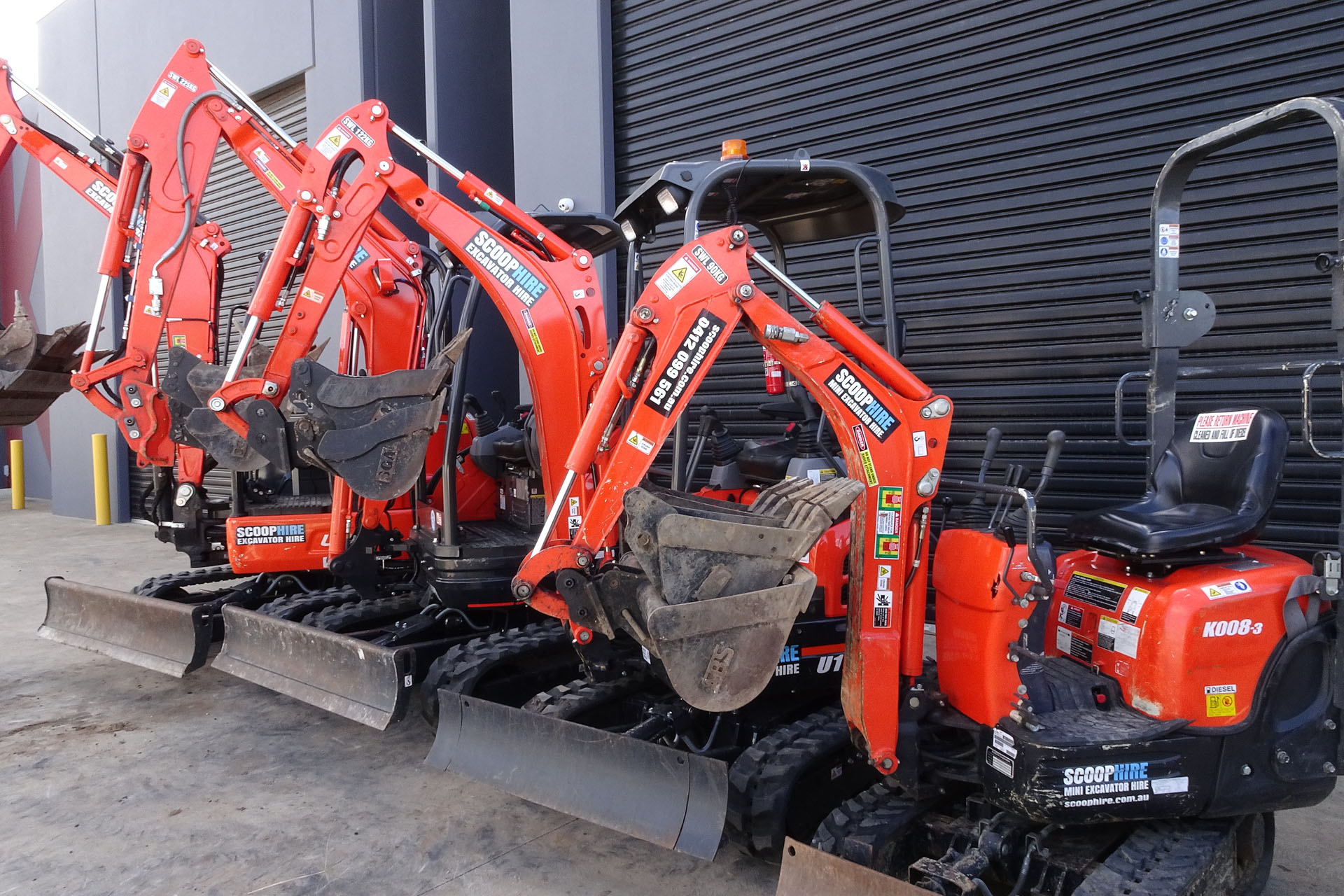 Reasons Why Excavator Hire Makes Sense To Construction Contractors And Builders